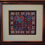 Antique Rug Needlepoint Reproduction