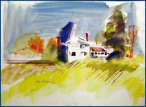 Featured Artist John Waddingham Village Frame And Gallery