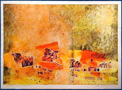John Waddingham painting Halcyon Days