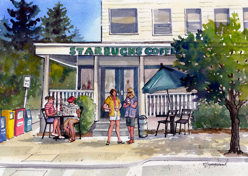 Our Starbucks by Kaye Synoground