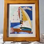 Image of Richard Hall's painting Horizon II