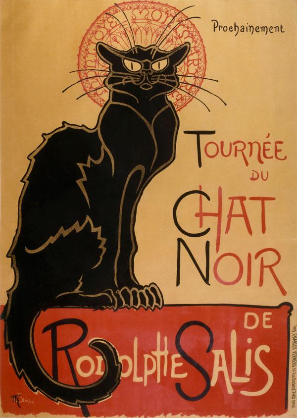 Image of Tournee du Chat Noir de Rodolpe Salis by Theophile Alexandre Steinlen