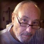 Close up photo of artist Doug Hunt