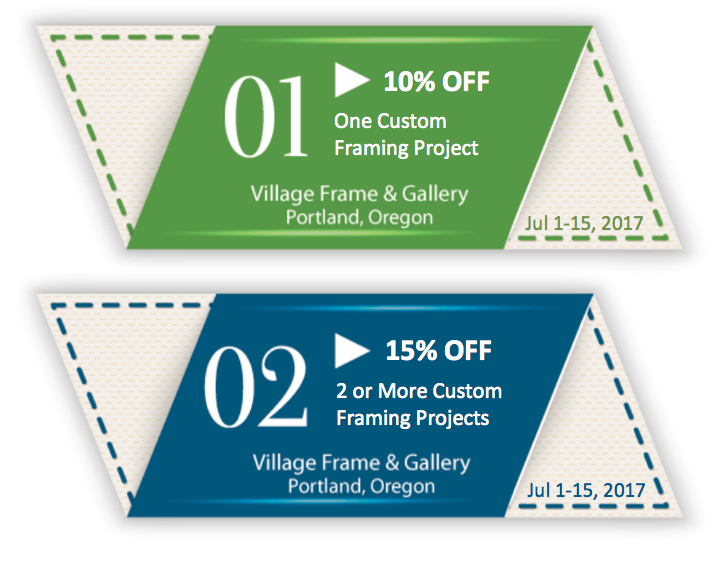 Summer Super Coupon! - Village Frame and Gallery