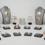 Display of assorted jewelry by Amarinda Alpern